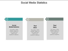Social Media Statistics Ppt PowerPoint Presentation Infographics Styles Cpb