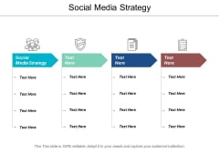 Social Media Strategy Ppt Powerpoint Presentation Infographic Template Format Ideas Cpb