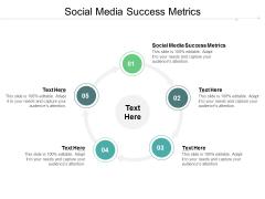 Social Media Success Metrics Ppt PowerPoint Presentation Show Graphics Cpb
