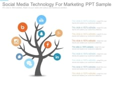 Social Media Technology For Marketing Ppt Sample