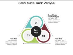 Social Media Traffic Analysis Ppt PowerPoint Presentation Summary Deck Cpb