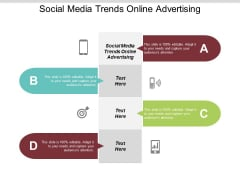 Social Media Trends Online Advertising Ppt PowerPoint Presentation File Graphics Tutorials Cpb