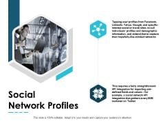Social Network Profiles Management Ppt PowerPoint Presentation Styles Tips