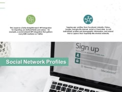 Social Network Profiles Technology Ppt PowerPoint Presentation Styles Rules