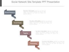 Social Network Site Template Ppt Presentation