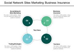 Social Network Sites Marketing Business Insurance Trading Strategies Ppt PowerPoint Presentation Portfolio Inspiration
