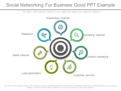 Social Networking For Business Good Ppt Example