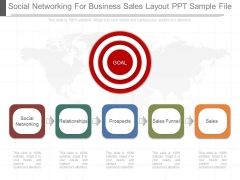 Social Networking For Business Sales Layout Ppt Sample File