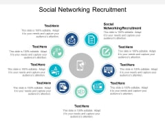 Social Networking Recruitment Ppt PowerPoint Presentation Icon
