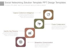 Social Networking Solution Template Ppt Design Templates