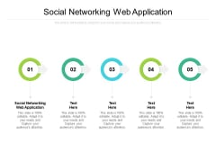 Social Networking Web Application Ppt PowerPoint Presentation Inspiration Model Cpb