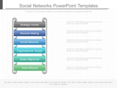 Social Networks Powerpoint Templates
