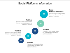 Social Platforms Information Ppt PowerPoint Presentation Infographics Outline Cpb
