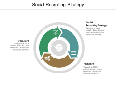 Social Recruiting Strategy Ppt PowerPoint Presentation Slides Brochure