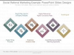 Social Referral Marketing Example Powerpoint Slides Designs