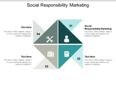 Social Responsibility Marketing Ppt PowerPoint Presentation Inspiration Background Designs Cpb