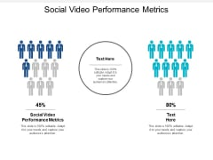 Social Video Performance Metrics Ppt PowerPoint Presentation Infographics Brochure Cpb