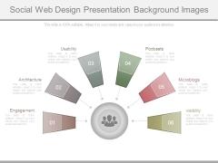 Social Web Design Presentation Background Images