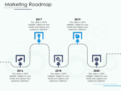 Software Configuration Management And Deployment Tool Marketing Roadmap Ppt Summary Brochure PDF