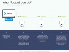 Software Configuration Management And Deployment Tool What Puppet Can Do Ppt Styles Guidelines PDF