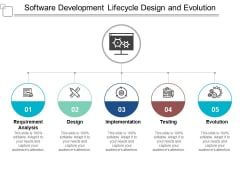 Software Development Lifecycle Design And Evolution Ppt PowerPoint Presentation File Elements