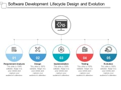 Software Development Lifecycle Design And Evolution Ppt PowerPoint Presentation Portfolio Tips