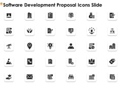 Software Development Proposal Icons Slide Ppt Professional Deck PDF