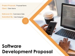 Software Development Proposal Ppt PowerPoint Presentation Complete Deck With Slides