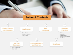 Software Development Table Of Contents Ppt Layouts Layout Ideas PDF
