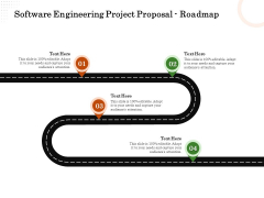 Software Engineering Project Proposal Roadmap Ppt Professional Structure PDF