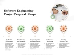 Software Engineering Project Proposal Scope Ppt Show Example File PDF