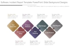 Software Incident Report Template Powerpoint Slide Background Designs