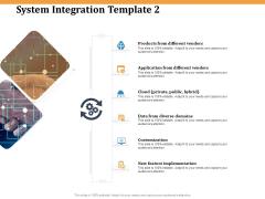 Software Integration WBS System Integration Template Vendors Ppt PowerPoint Presentation Infographics Portfolio PDF