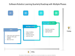 Software Robotics Learning Quarterly Roadmap With Multiple Phases Pictures