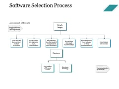 Software Selection Process Ppt PowerPoint Presentation Professional Picture