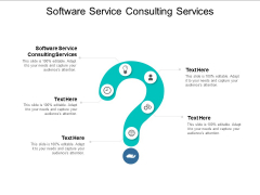 Software Service Consulting Services Ppt PowerPoint Presentation Portfolio Rules Cpb