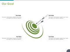 Software Testing Framework For Learners Our Goal Ppt PowerPoint Presentation Slides Sample PDF