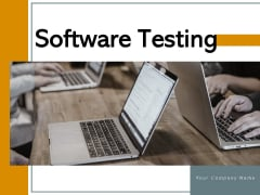 Software Testing Planning Execution Ppt PowerPoint Presentation Complete Deck