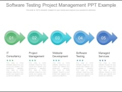 Software Testing Project Management Ppt Example