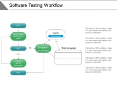 Software Testing Workflow Ppt PowerPoint Presentation Layouts Styles