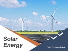 Solar Energy PowerPoint Presentation Ppt PowerPoint Presentation Complete Deck With Slides