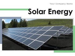 Solar Energy Time Leafed Trees Ppt PowerPoint Presentation Complete Deck
