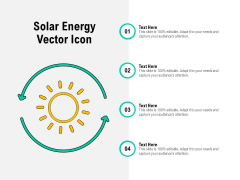 Solar Energy Vector Icon Ppt PowerPoint Presentation Gallery Visuals PDF