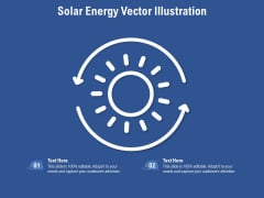 Solar Energy Vector Illustration Ppt PowerPoint Presentation Gallery Rules PDF