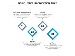 Solar Panel Depreciation Rate Ppt PowerPoint Presentation Shapes Cpb Pdf