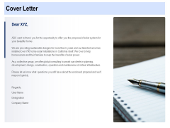 Solar Panel Maintenance Cover Letter Ppt Icon Visuals PDF