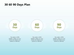 Solar Power Plant Technical 30 60 90 Days Plan Ppt File Template PDF