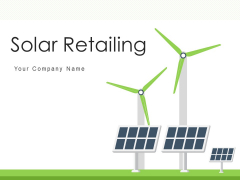 Solar Retailing Research Gear Ppt PowerPoint Presentation Complete Deck
