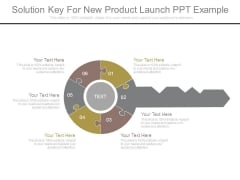 Solution Key For New Product Launch Ppt Example