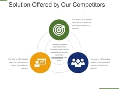 Solution Offered By Our Competitors Ppt PowerPoint Presentation Infographic Template Background Images